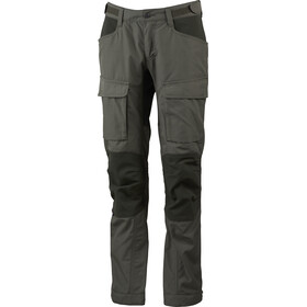 Lundhags Authentic II Pantaloni Donna, forest green/dark forest